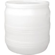 Бочка пластиковая 35 литров 340*380*340 крышка хлопок