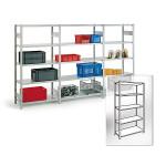 Металлические полочные  стеллажи и мебель