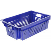 Ящик пластиковый Арт. 102-1 сплошное дно
