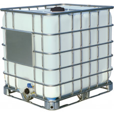 Емкость кубическая 1000 литров на металлическом поддоне