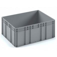 Евроконтейнер ЕС-8632 серый с усиленным дном