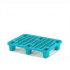 Легкий перфорированный пластиковый поддон на ножках 800х600