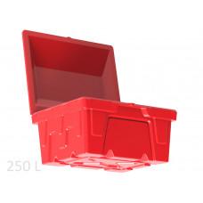 Ящик для песка, реагентов  и песочно-соляной смеси  КДП-ПГ-250