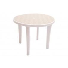 Стол пластиковый круглый с рисунком 950 мм