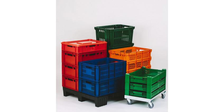 Виды пластиковых ящиков
